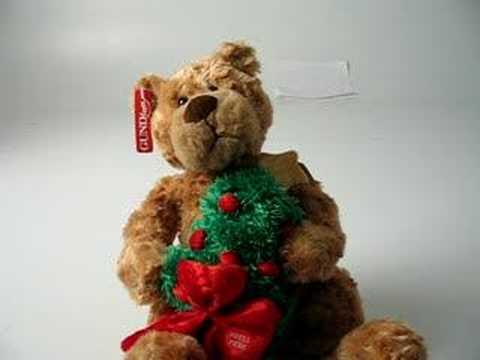Gund Bear Frasier Here Comes Santa