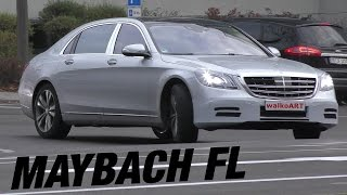 فيديو يظهر اختبار Mercedes-Maybach S-Class 2018