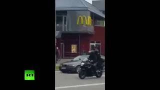 GRAPHIC: Moment Munich shooter goes on rampage