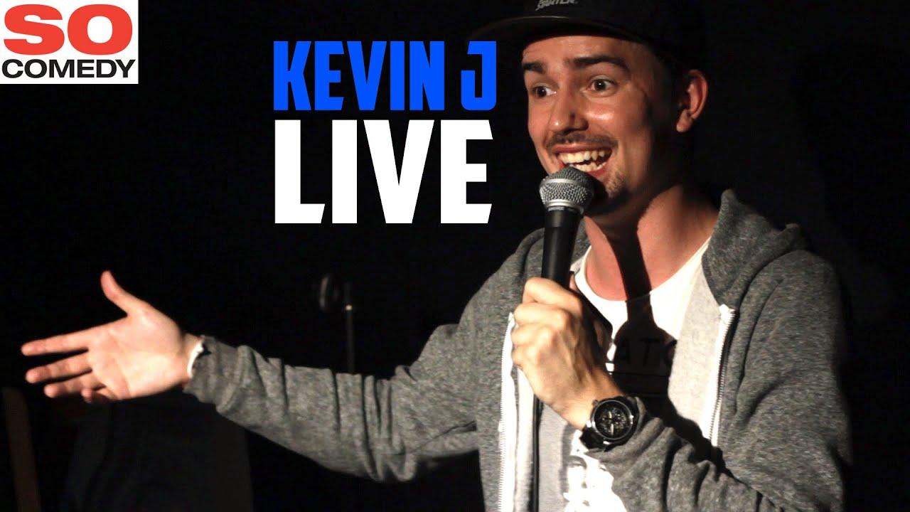 Kevin J Live So Comedy