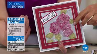 HSN   Crafter's Companion 05.02.2018 - 10 PM