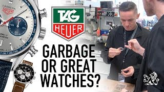 Garbage Or Good Watches To Buy? - Inside TAG Heuer's Factory: GIAJ#14