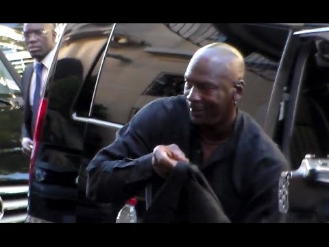 Michael JORDAN arriving to his hotel in Paris 12 june 2015 France
