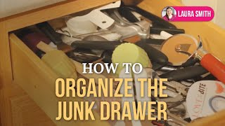 How to Organize the Junk Drawer Thumbnail