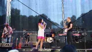 """Birgit Õigemeel ja Ott Lepland - """"Sinuni"""" (15.07.2013 Tartu Laululaval)"""
