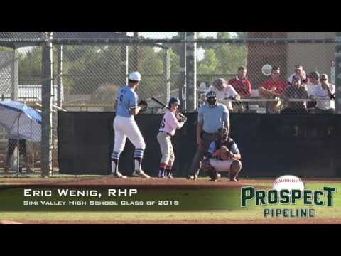 Eric Wenig Prospect Video, RHP, Simi Valley High School Class of 2018