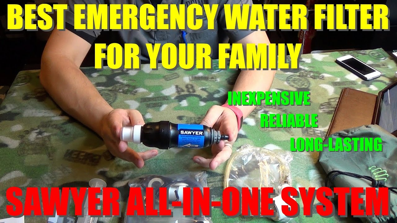 The Best Emergency Water Filtration System For Your Home