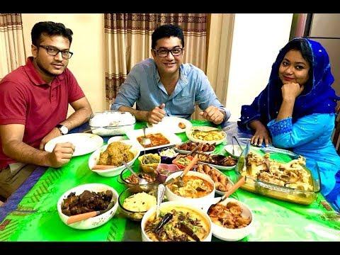 চাটগাইয়া দাওয়াত - AMAZING AUTHENTIC HOME MADE CHITTAGONIAN FOOD ARRANGEMENT IN CHITTAGONG