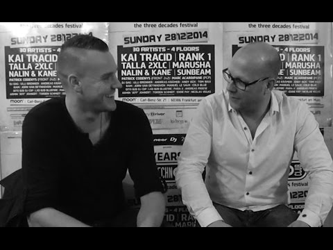 Piet of Rank 1 interview, 30 Years of Technoclub, Frankfurt, 2014.