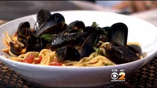 Stephanie And Tony's Table: A Recipe For Pasta And Seafood Lovers