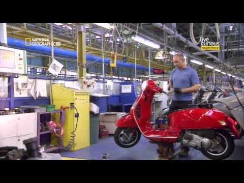 Piaggio Vespa GTS  Super - parte /.avi