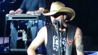 "Jason Aldean ""Big Green Tractor"" - BB&T Pavilion - Philadelphia-Camden- 9/17/16"