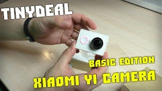 видео Экшн камера Xiaomi Yi Action Camera basic edition (белая)
