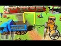 Train Road Railroad Building - Construction Simulation 3D - Android GamePlay