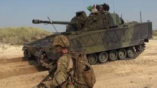 Skarpskydning med IKK og panserinfanteri