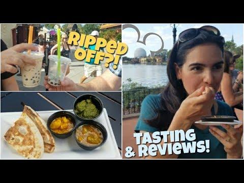 12 Reviews | 2017 EPCOT Food & Wine Festival | Disneyworld