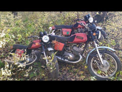 Банда на мотоциклах ИЖ