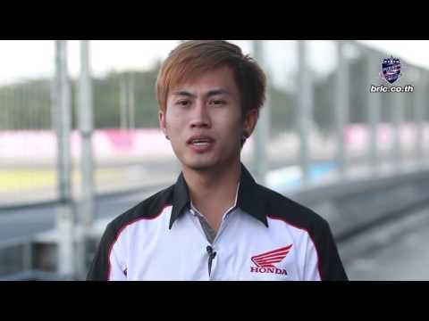 """สัมภาษณ์ """"วรพงศ์ มาลาหวล""""  แข่งขัน ARRC ROUND 6 รุ่น ASIA PRODUCTION 250 cc. NO.46"""