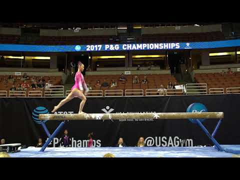 Kara Eaker - Balance Beam - 2017 P&G Championships - Junior Women - Day 1