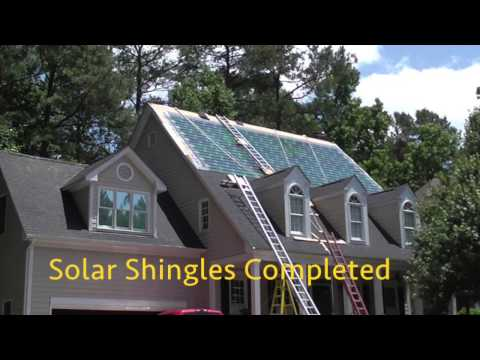 Raleigh Solar Shingle Company & Solar Power Installation