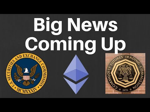 Ethereum's Make or Break Day? SEC & CFTC Meeting Could have Major Crypto Market Impact