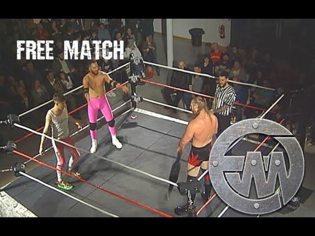 Free Match: EWW Tag Team Title Match! Titan Vs MENergy