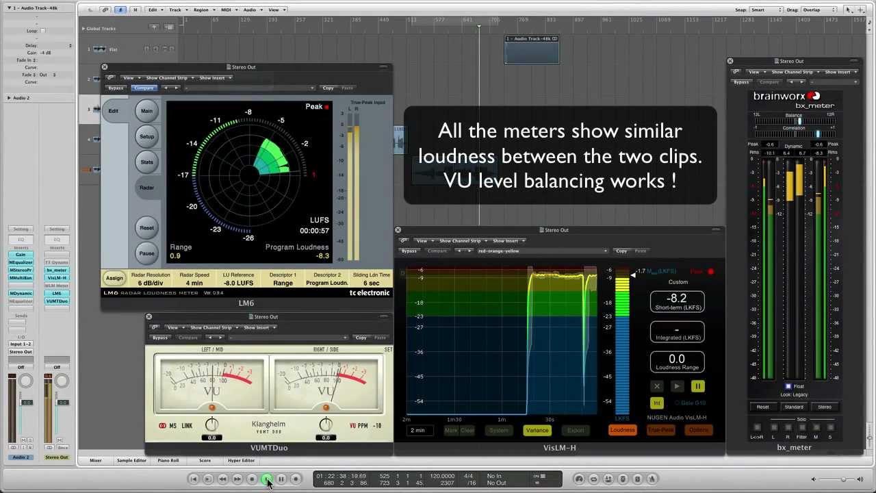 loudness meter vst plugins