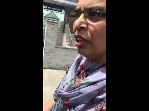 Punjabi Girl Fighting In CANADA