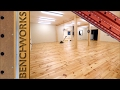 New workshop build part 5: Flooring