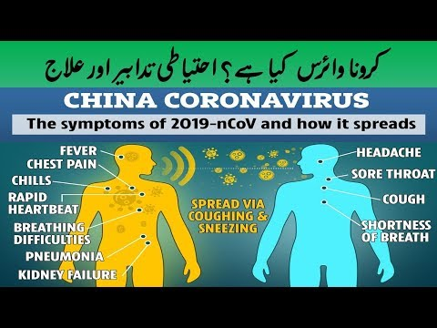WHAT IS CORONAVIRUS? || SYMPTOMS PRECAUTIONS TREATMENT || URDU