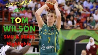 Tom Wilson Highlights SMU Basketball to SEABL MVP! Aussie Youth Player of the Year Next ...