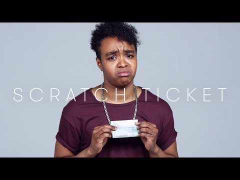 100 People Play Scratch Tickets | Keep it 100 | Cut