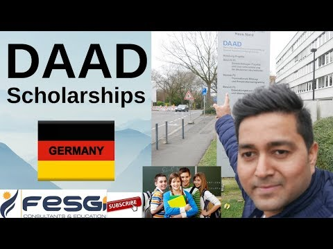 DAAD Scholarship in GERMANY - How International Students can