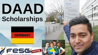 DAAD Scholarship in GERMANY - How International Students can get Scholarships