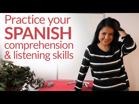 Spanish Listening Comprehension Practice: In 27 minutes listen, repeat, and practice your Spanish