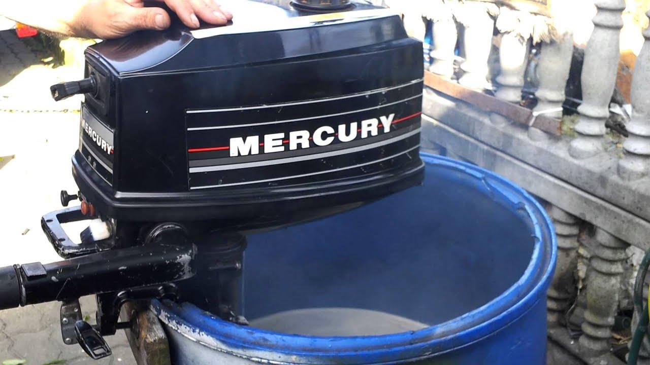 1995 mercury 4 hp outboard motor 2 stroke dwusuw youtube for Mercury 4 hp boat motor
