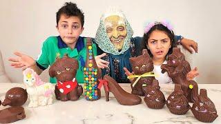 Heidi e Zidane receberam presentes da fada boa, história sobre doces prejudiciais