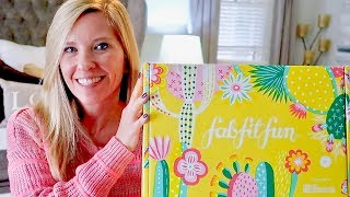 FAB FIT FUN SPRING UNBOXING 2019