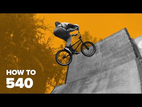 Как сделать 540 на BMX (How To 540 BMX)