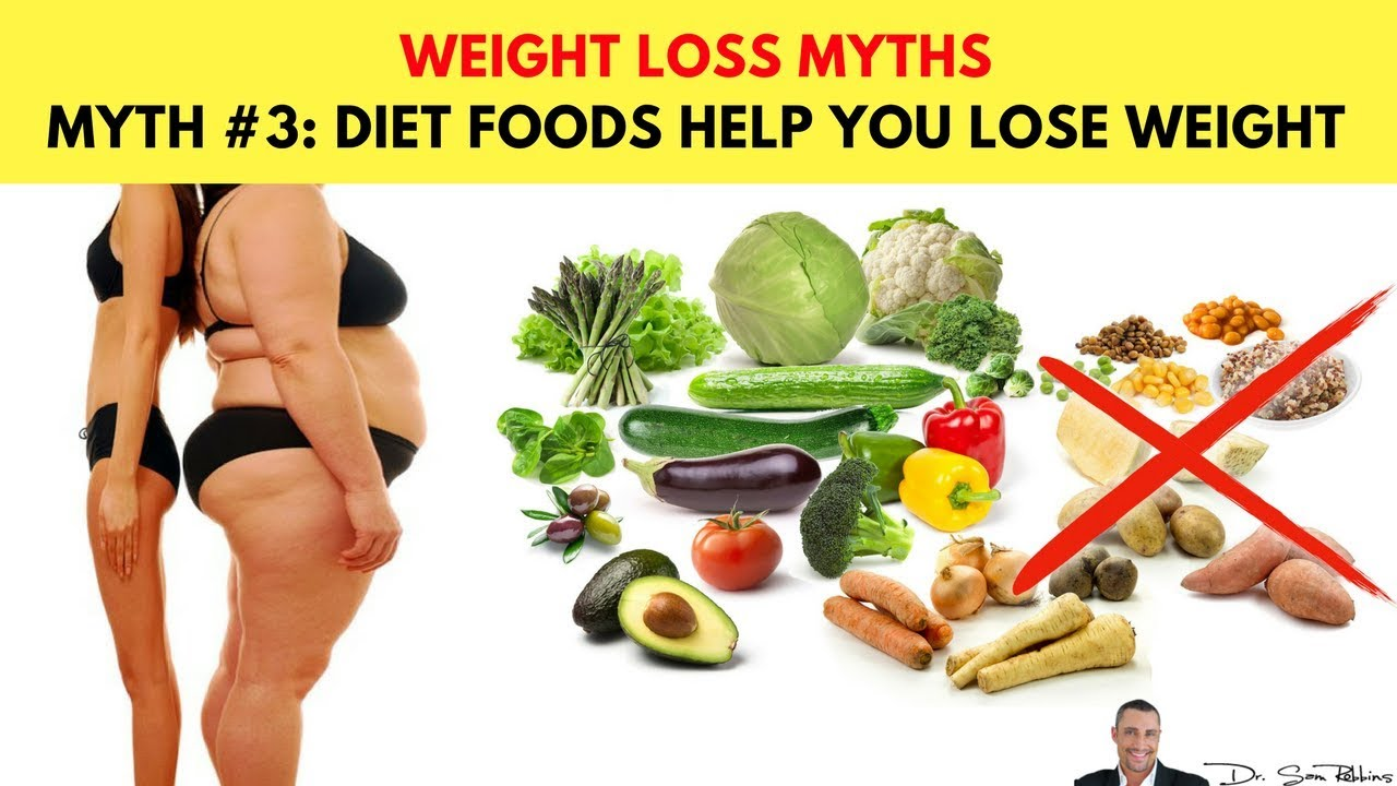 🍽 myth #3: diet foods help you lose weight - top 10 biggest myths