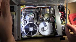 VHS Video recorder converted to reel to reel audio recorder (HD) (named- GOLDEN MEMORIES)