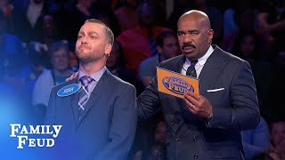 $20,000 at stake! 28 points with his last answer?   Family Feud