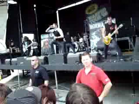 Norma Jean - Song Sounds Much Sadder (LIVE)