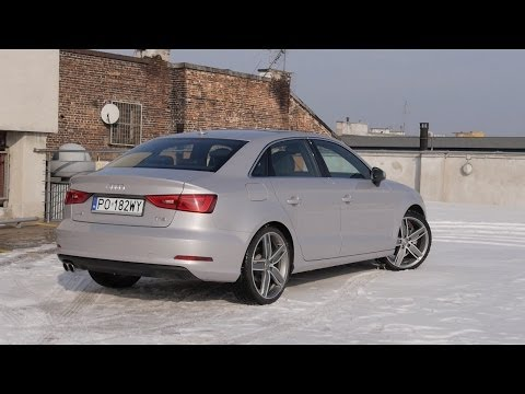 (PL) Audi A3 Limousine 1.8 TFSI S tronic - test i jazda próbna
