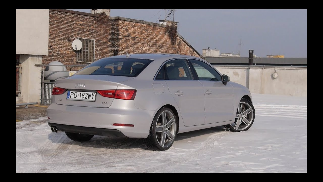 pl audi a3 limousine 1 8 tfsi s tronic test i jazda pr bna youtube. Black Bedroom Furniture Sets. Home Design Ideas
