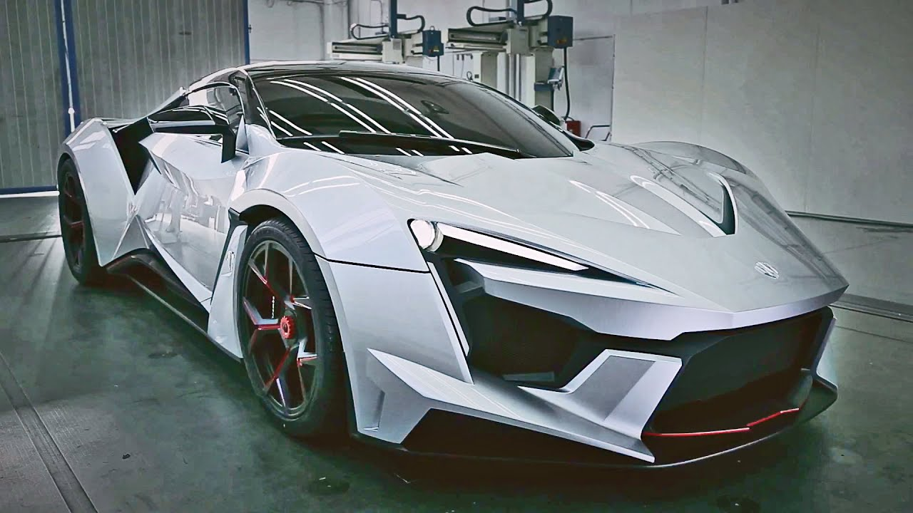 W Motors Fenyr >> W Motors Fenyr SuperSport 900 hp - First Look - YouTube