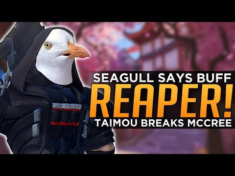 Overwatch: Seagull Says BUFF Reaper! - Taimou Breaks McCree!
