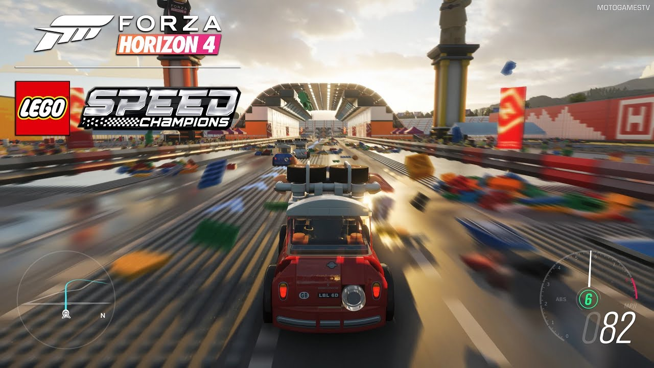 Forza Horizon 4 LEGO Speed Champions Expansion - First Gameplay Preview and  Screenshots [4K]