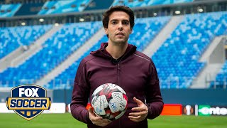 Kaká calls Ronaldo best player he's ever played with, talks time in MLS | Indoor Soccer | FOX SOCCER