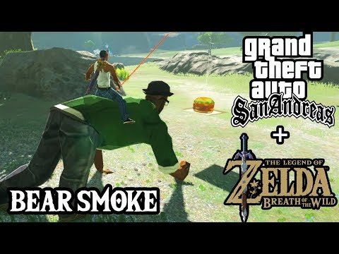 Zelda: Breath of the Wild - Bear Smoke
